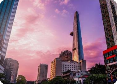 hong kong city at afternoon