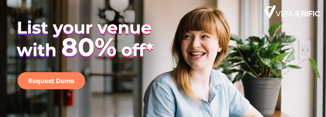venue listing with 80% off