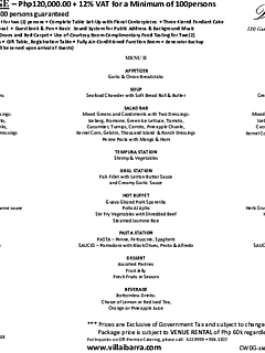 2015 villa cienna wedding package %28prev. classic%29 thumbnail