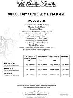Wdcp 0814 01 wholeday conference package thumbnail
