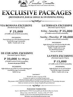 Exclusive packages thumbnail