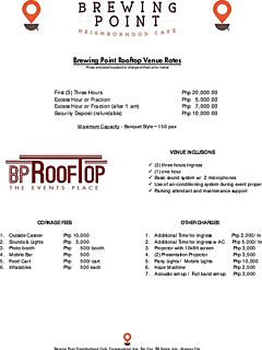 Brewing point rooftop rates   packages thumbnail