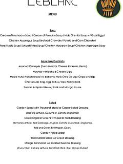 Le blanc lobenfrance menu thumbnail
