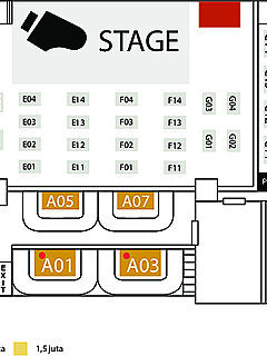 Seat layout thumbnail