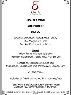 Gaia high tea 2016 thumbnail