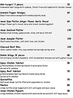 Tapas menu thumbnail