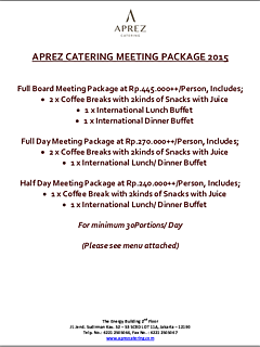 Catering meeting package thumbnail