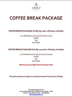 Coffee break package thumbnail