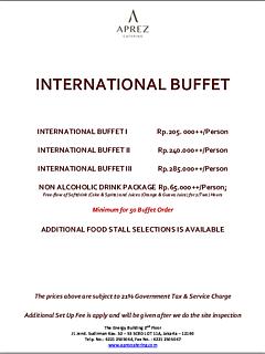 International menu selection thumbnail