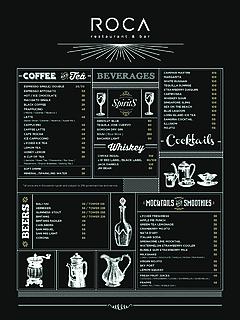 Roca drink menu 2016 thumbnail