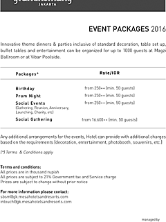 Event packages thumbnail