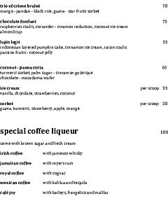 Wijaya kusuma dessert menu thumbnail