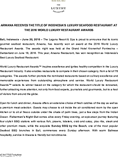2016 arwana wins indonesia%27s luxury seafood restaurant in world luxury thumbnail