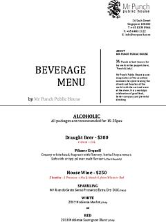 Beverage menu 2019 thumbnail