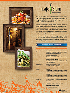 Cafe siam lkf onepager thumbnail