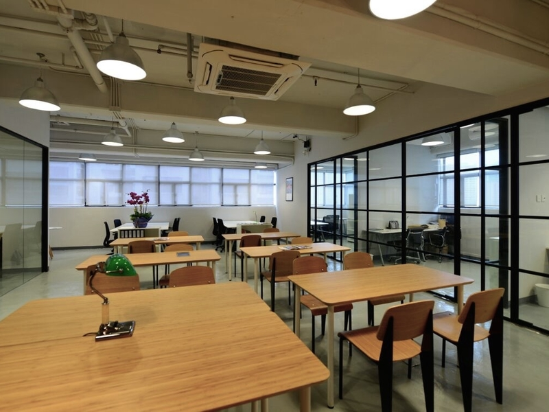 large coworking space for business events and workshops