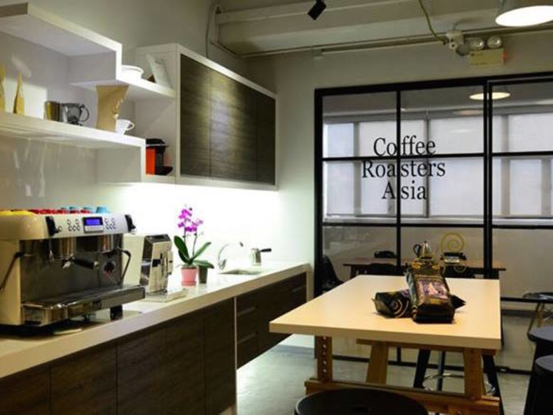 the coffee house coworking pantry area for business events