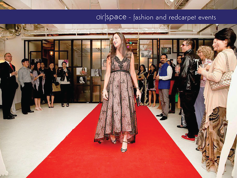 fashion show and red carpet events featuring fahion product launch