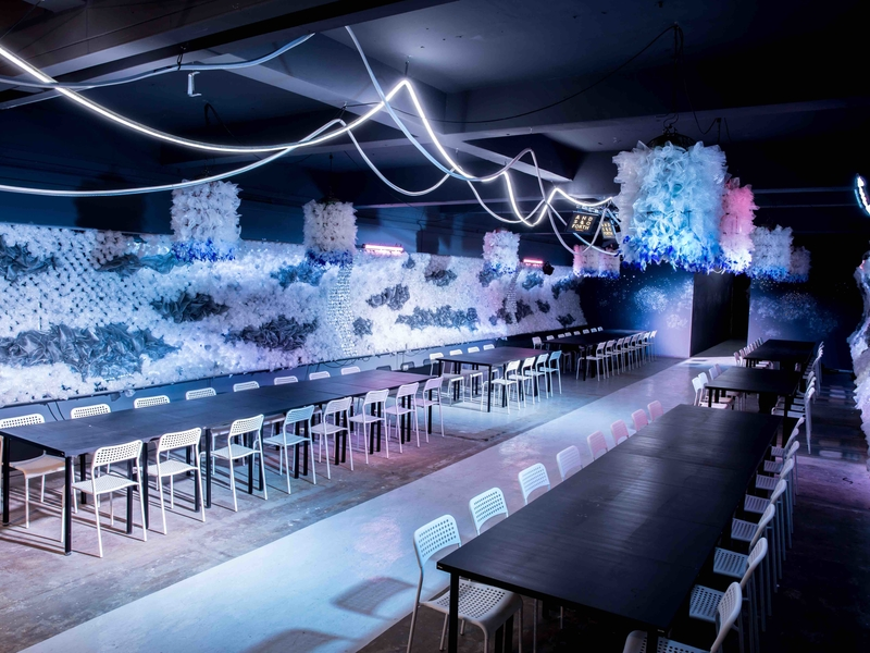 venue with gourmet intercontinental cuisine for annual celebration