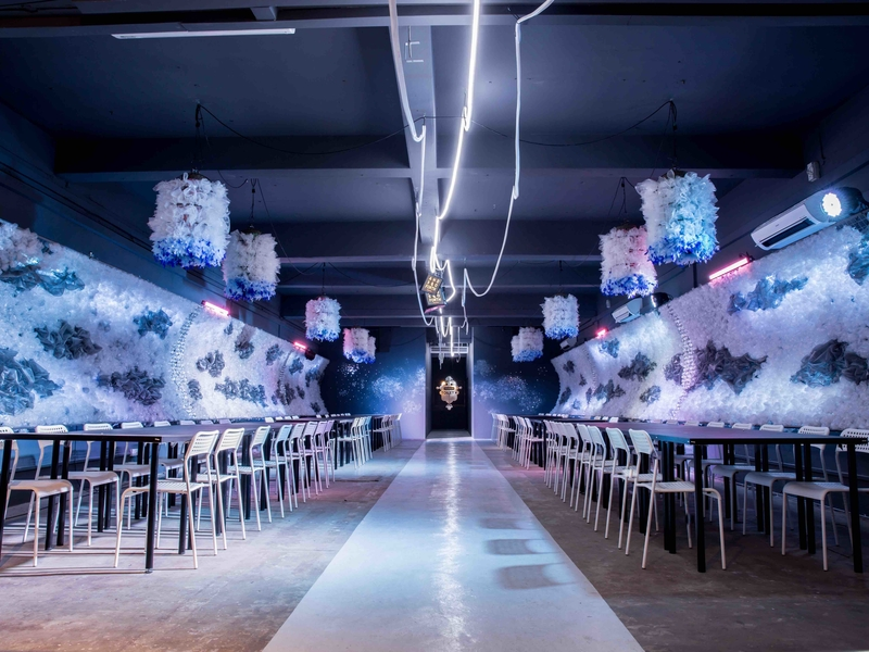 asia's largest multi-room immersive dining event space