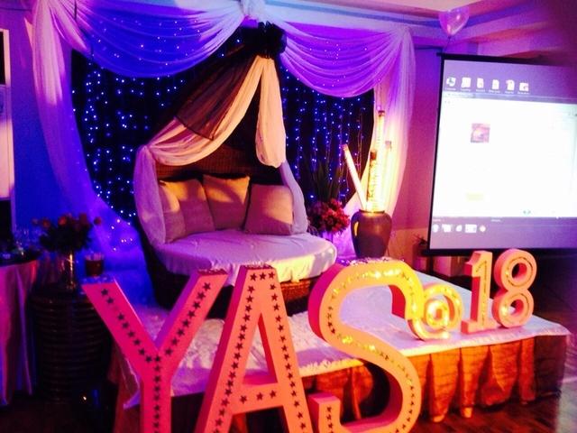 18 birthday party decor