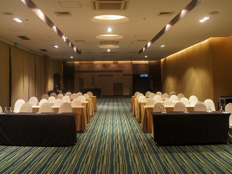 corporate workshop and training event at hotel ballroom