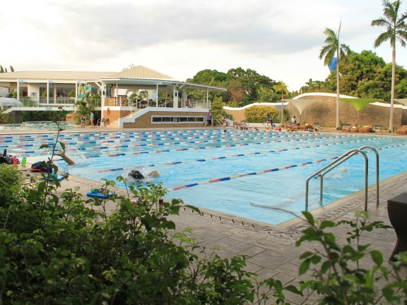 team bonding event venue in philippines with large swimming pool area