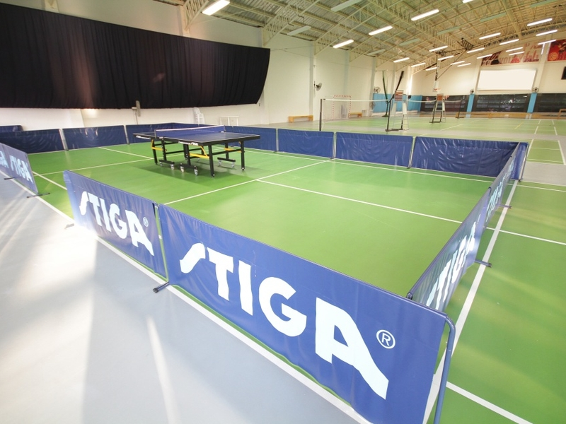 philippines large sport event venue with table tennis facility