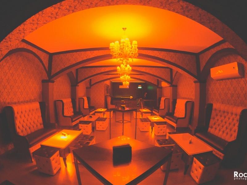 level vip club lounging area