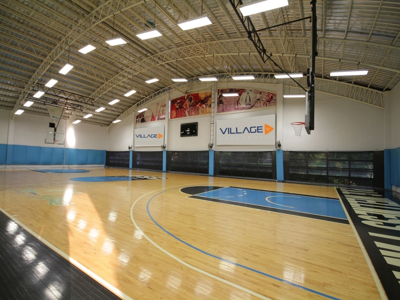 philippines basketball match venue with large indoor field
