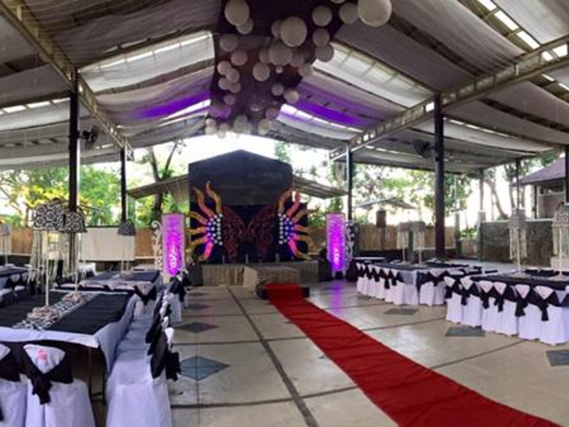 semi-open-air graduation party venue in philippines with large area