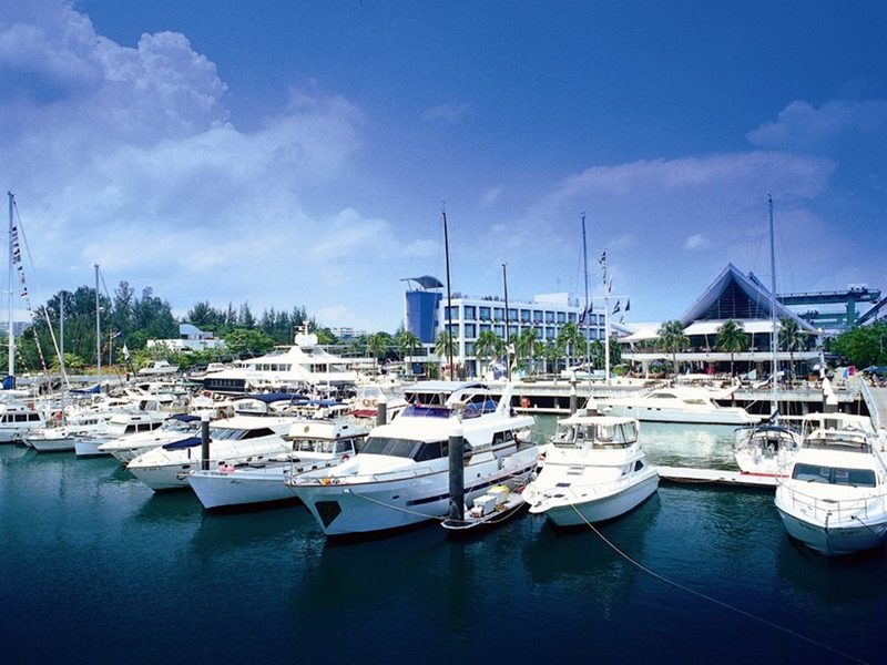 small harbour in singapore for yacht