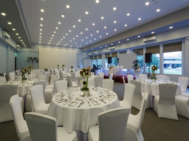 Microtel by wyndham up technohub ballroom event space manila philippines venuerific medium