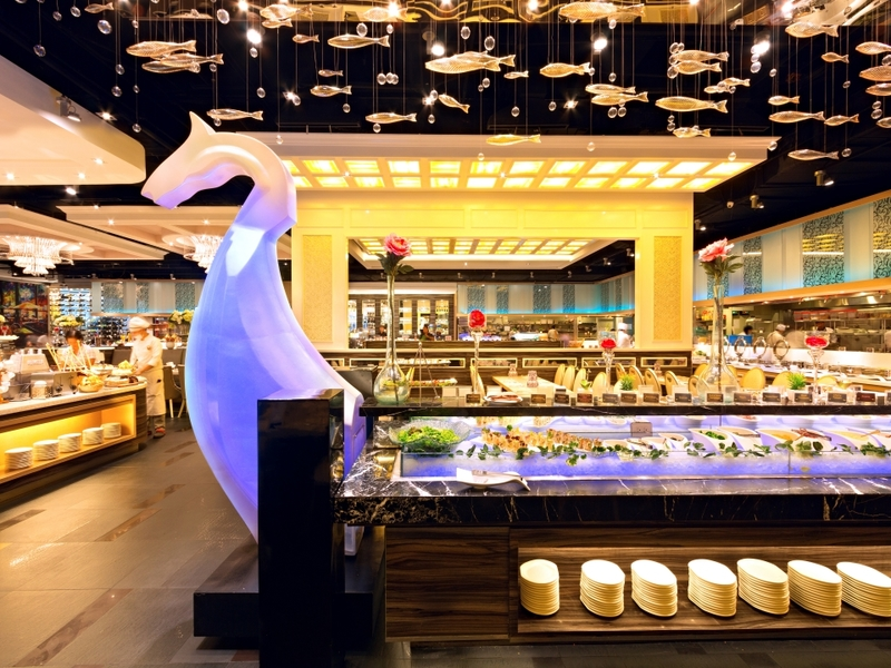 large buffet restaurant in quezon city with baby shower event room