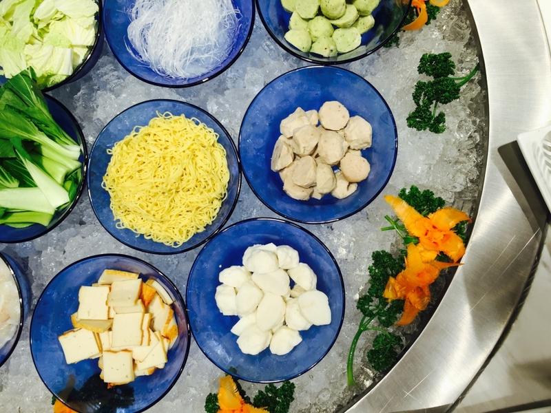 year-end party event venue in paranaque served shabu-shabu dishes