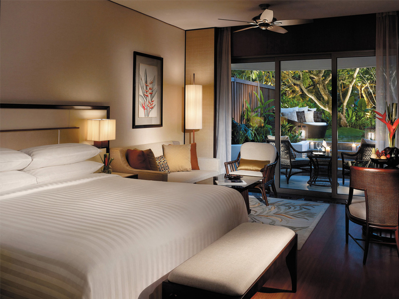 five-star hotel in singapore with garden view bedroom for valentines day