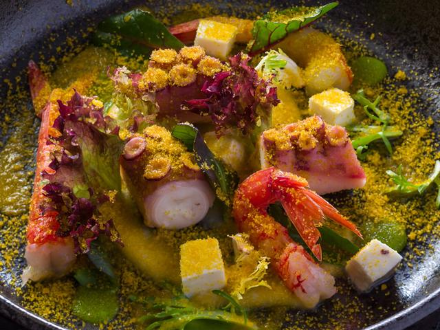 fresh italian seafood as the summer menu