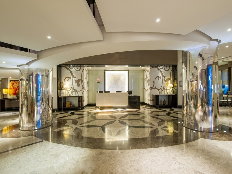 entrance leading to reception area at quest hotel