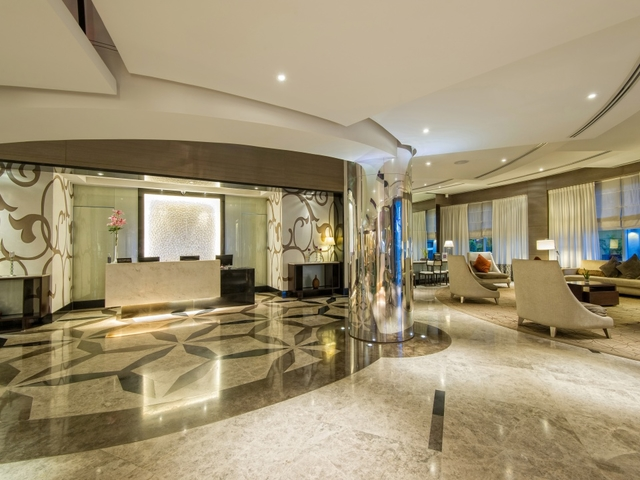 hotel lobby and lounge area in quest hotel and conference centre