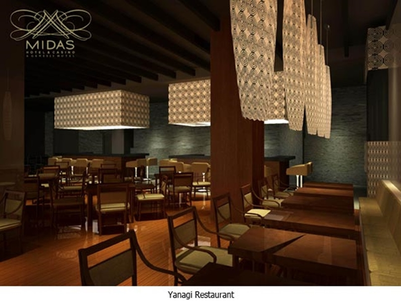 restaurant with wooden dining tables and chairs