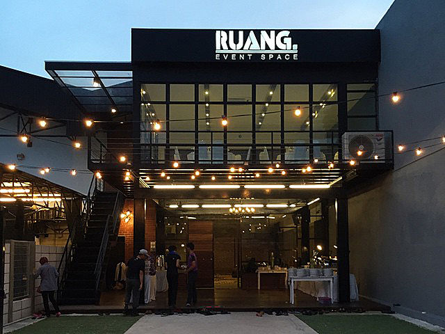ruang event space product launch kuala lumpur