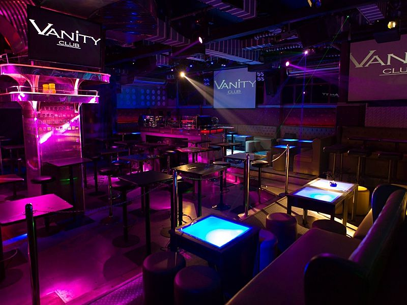 vanity superclub superb place year end party