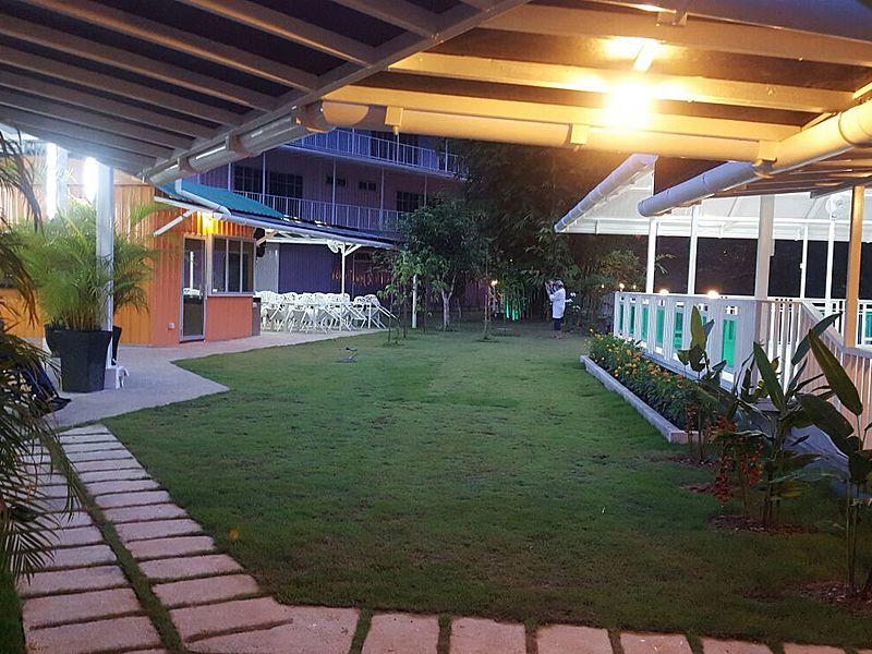 indoor birthday event space with garden area in selangor