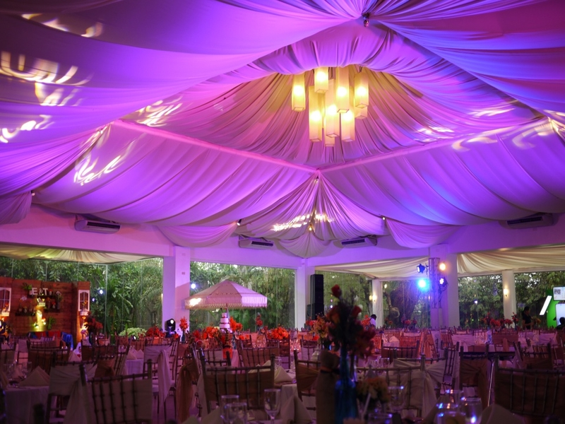 debut party setup and decor