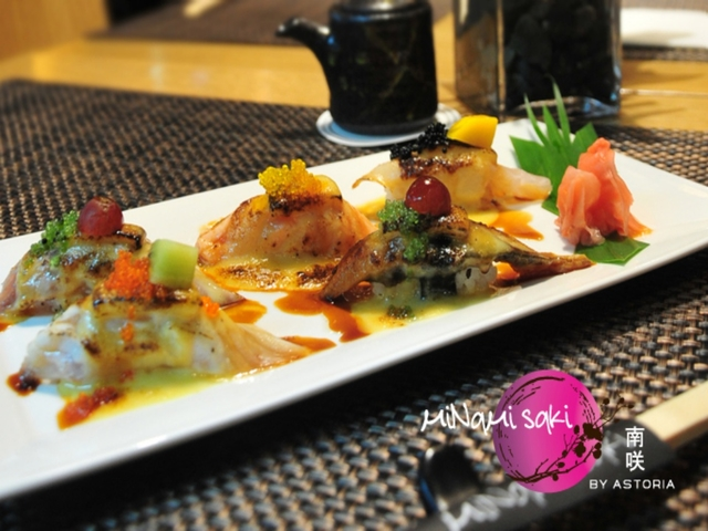 apetizer dish on table