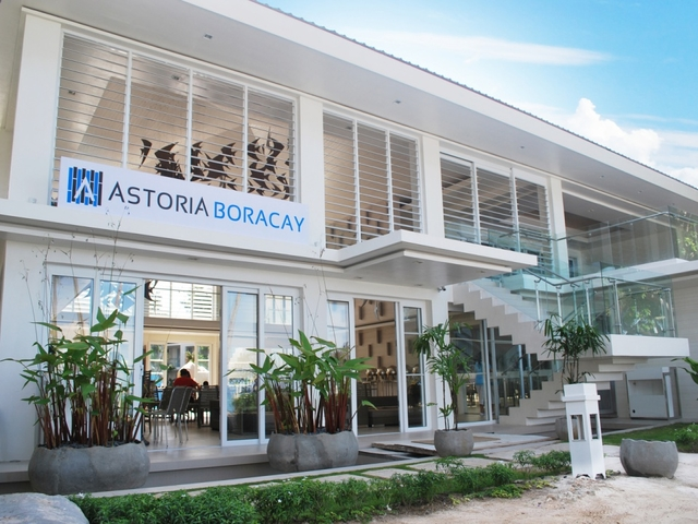 the exterior building of astoria boracay