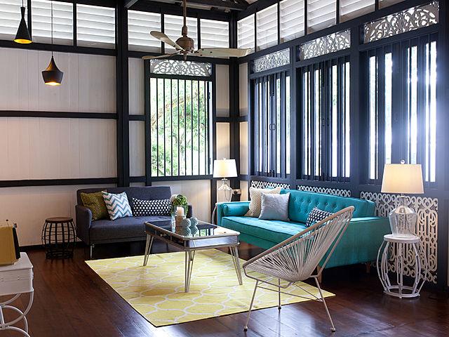 living room in k seena house selangor malaysia