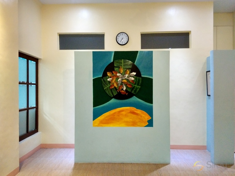 painting exhibition in room