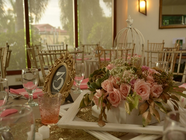 banquet seating and flowers decoration in pasay wedding hall