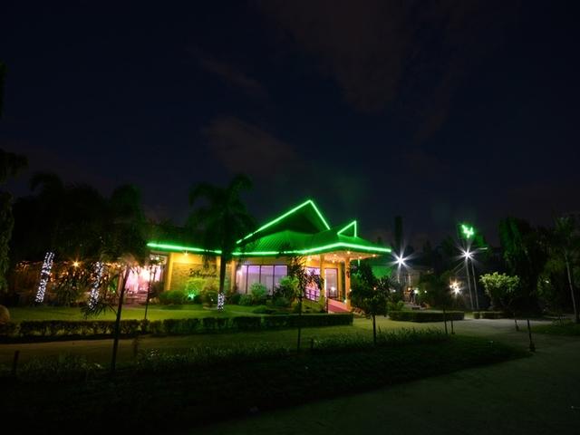 large outdoor garden area in pasay wedding venue